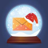圣诞玻璃球 — 图库矢量图片