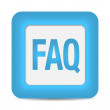 Stock Vector: Faq icon
