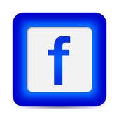 Facebook icon — Stock Vector