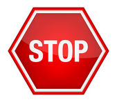 Stop sign. — Stock Vector