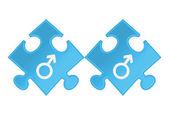 Gay symbols. — Stock Vector