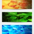 Royalty-Free Stock Vector Image: Abstract vibrant banners in grunge style.