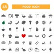 Food icon - set. — Stock Vector #31201899