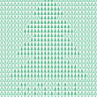 Christmas tree background. — Stock Vector