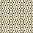 Seamless pattern with hearts. Vector — Stock Vector #39076035