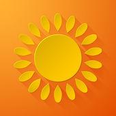 Sun background — Stock Vector