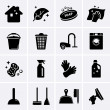 Cleaning icons — Stock Vector #47364881