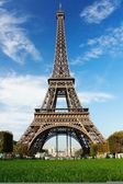 Eiffel tower in Paris — Stok fotoğraf