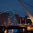 Stock Photo: Convention Centre Dublin by night