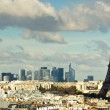 View on Eiffel Tower and panorama of Paris — Stock Photo