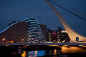 Convention Centre Dublin by night — Stock Photo