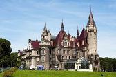 Moszna castle — Stock Photo