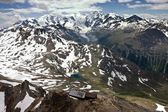 View of Swiss Alps in Summer — Stockfoto