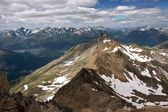 View of Swiss Alps in Summer — Stock fotografie