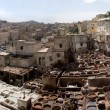 Stock Photo: Old Tannery in Fes, Morocco, Africa