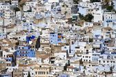 Chefchaouen, Morocco - Aerial View of Medina — Stock Photo