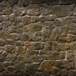 Old, Ragged Brick Wall Texture Made of Stones — Stock Photo #14264763