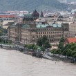 Stock Photo: Prague - Massive Rain Caused Floods in Czech Capital City