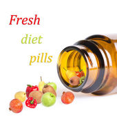 Fresh diet pills — Stock Photo