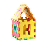 Huis van puzzels — Stockfoto