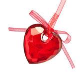Un corazón rojo — Foto de Stock