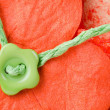 Flower button - Stock Photo