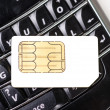 Phone sim - Stock Photo