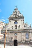 Kościół bernardynów we lwowie — Zdjęcie stockowe