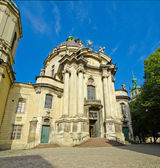 Dominican cathedral church — Foto Stock