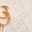 Golden rings — Stock Photo