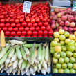 Fruits stall in Istandbul - Stock Photo