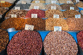 Nuts stall — Stock Photo