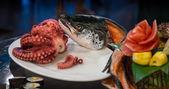 Japance raw food — Stock Photo
