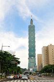Taipei 101 building — Stock Photo