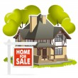 House for sale — Stock Vector #23613217