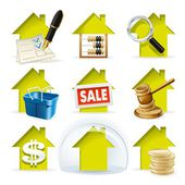 Real Estate Transactions — Stock Vector