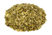 Shelled pumpkin seed — Stock Photo