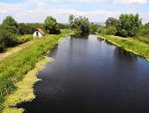 River Zala in Hungary — Stock Photo