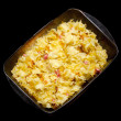 Baked pasta — Stock Photo