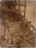 Alte feuerwehrauto — Stockfoto