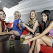 A group of friends having fun in a club — Stock Photo