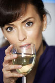 Business woman relaxing — Stock Photo