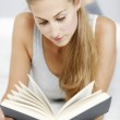 Woman reading a book — Stock Photo #38864089