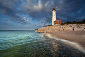 Crisp Point Lighthouse. — 图库照片