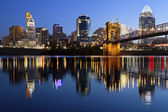 Cincinnati skyline. — Stock Photo