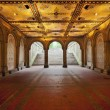 Lower Passage of Bethesda Terrace. - Stock Photo