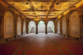 Lower Passage of Bethesda Terrace. — Stock Photo