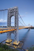 George Washington Bridge, New York. — Stock Photo