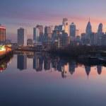 City of Philadelphia. — Stock Photo