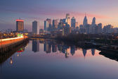 City of Philadelphia. — Stock Photo